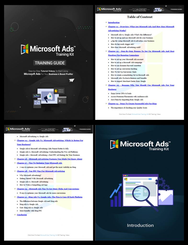 Microsoft Ads Training Kit Training Guide