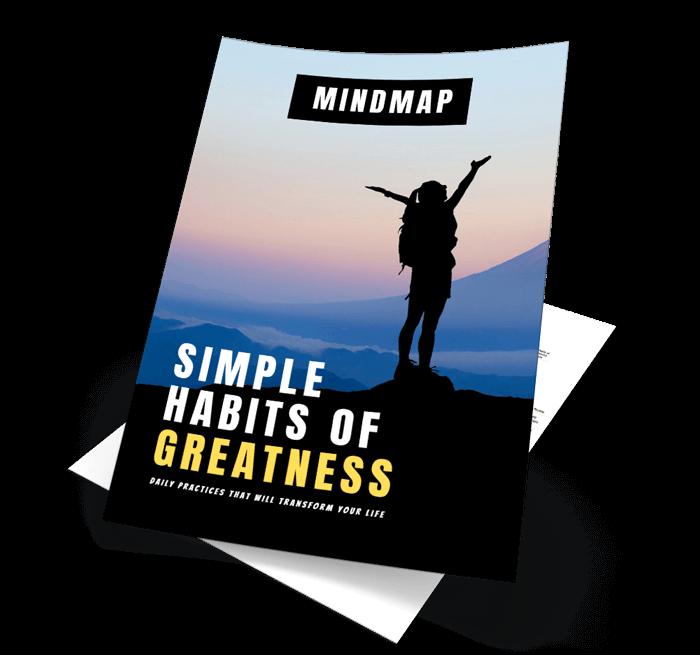 Simple Habits Of Greatness Mindmap